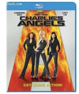 Charlie's Angels [Blu-ray] Cover