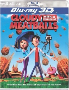 Cloudy With a Chance of Meatballs (Blu-ray 3D) [Blu-ray]