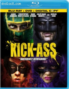 Kick-Ass (Two-Disc Blu-ray/DVD Combo Pack + Digital Copy) [blu-ray]