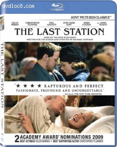 Last Station, The [Blu-ray] Cover