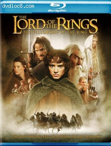 Lord of the Rings: The Fellowship of the Ring [Blu-ray], The