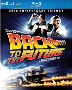 Back to the Future: 25th Anniversary Trilogy [Blu-ray] Cover