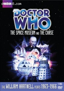Doctor Who: The Space Museum/The Chase (Stories 15 and 16) Cover