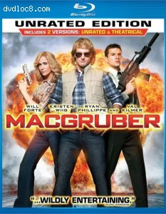MacGruber [Blu-ray] Cover