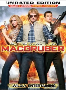 MacGruber Cover