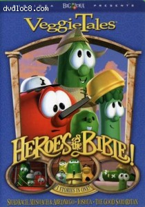 Veggie Tales: Bible Heroes - Stand Up! Stand Tall! Cover