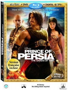 Prince of Persia: The Sands of Time (Blu-ray/DVD Combo + Digital Copy) [Blu-ray] Cover