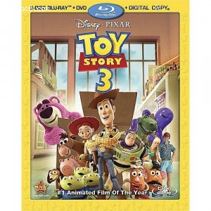 Toy Story 3 (Two-Disc Blu-ray/DVD Combo + Digital Copy)