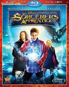 Sorcerer's Apprentice (Three-Disc Blu-ray/DVD Combo+Digital Copy), The Cover