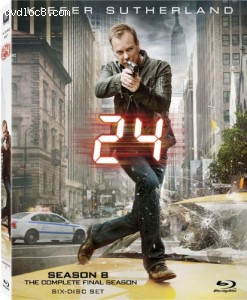 24: Season Eight [Blu-ray] Cover