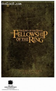 Lord of The Rings, The: The Fellowship of The Ring - Platinum Series Special Extended Edition (Canadian Edition) Cover