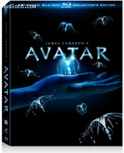 Avatar (Three-Disc Extended Collector's Edition + BD-Live) [Blu-ray] Cover