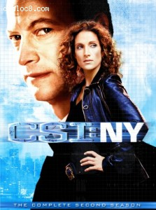 C.S.I.: NY - The Complete Second Season Cover