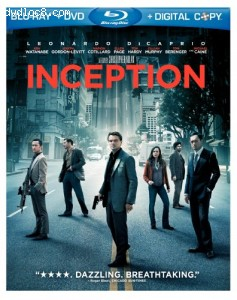 Inception (Blu-ray/DVD Combo + Digital Copy)