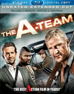 A-Team, Unrated Extended Cut [Blu-ray], The Cover