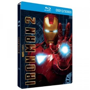 Iron Man 2 (Blu-ray/DVD Combo + Digital Copy) [blu-ray] (Target Exclusive Limited Steel Packaging) Cover