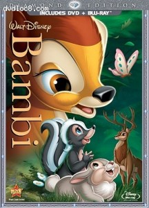 Bambi (Two-Disc Diamond Edition Blu-ray/DVD Combo in DVD Packaging) Cover
