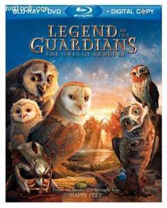 Legend of the Guardians: The Owls of Ga'hoole (Blu-ray/DVD Combo + Digital Copy) Cover