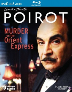 Poirot: Murder on the Orient Express [Blu-ray] Cover