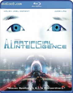 A.I.: Artificial Intelligence [Blu-ray] Cover
