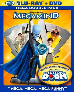 Megamind (Two-Disc Blu-ray/DVD Combo) [blu-ray] Cover