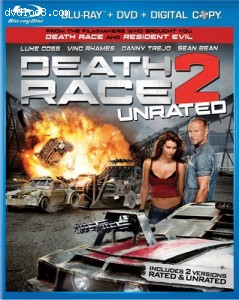 Death Race 2 [Blu-ray] Cover