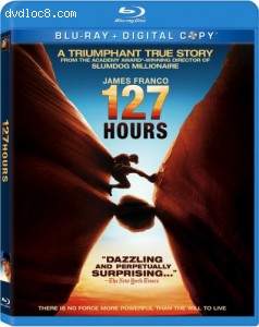 127 Hours [Blu-ray] Cover