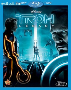 Cover Image for 'Tron: Legacy (Two-Disc BD Blu-ray/DVD Combo)'