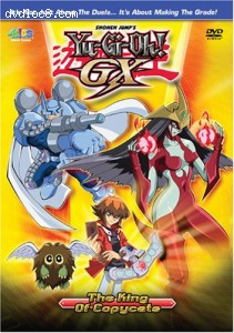 Yu-Gi-Oh! GX - The King of Copycats v.3 Cover
