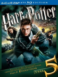 Harry Potter and the Order of the Phoenix (Ultimate Edition) [Blu-ray]