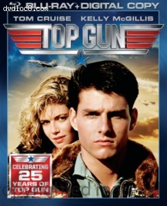 Cover Image for 'Top Gun (Blu-ray + Digital Copy)'