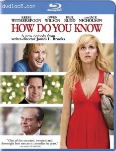 How Do You Know [Blu-ray] Cover
