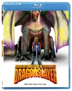Adventures of a Teenage Dragonslayer [Blu-ray] Cover