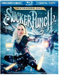Sucker Punch (Extended Cut) (Blu-ray/DVD Combo + Digital Copy) Cover