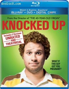 Knocked Up (Unrated and Theatrical Versions) [Blu-ray/DVD Combo + Digital Copy]