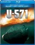 Cover Image for 'U-571 [Blu-ray/DVD Combo + Digital Copy]'