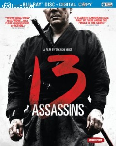 13 Assassins [Blu-ray] Cover