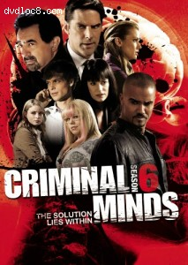 Criminal Minds: The Sixth Season Cover