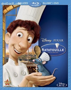 Ratatouille (Two-Disc Blu-ray / DVD Combo) Cover