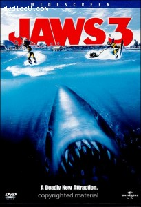 Jaws 3-D (Jaws III) Cover