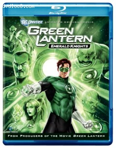 Green Lantern: Emerald Knights (Two-Disc Blu-ray/DVD Combo + Digital Copy) Cover