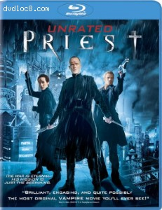 Priest (Unrated Version) [Blu-ray] Cover