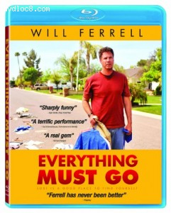 Everything Must Go [Blu-ray] Cover