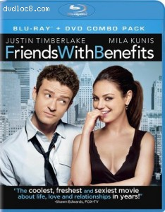 Friends with Benefits (Two-Disc Blu-ray/DVD Combo) Cover