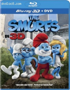 Smurfs (Two-Disc Combo: Blu-ray 3D / Blu-ray / DVD), The