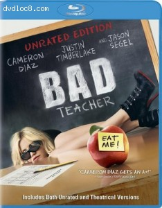 Bad Teacher (Unrated Edition) [Blu-ray] Cover