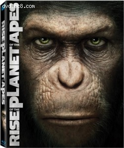 Rise of the Planet of the Apes (Two-Disc Edition Blu-ray/DVD Combo + Digital Copy) Cover