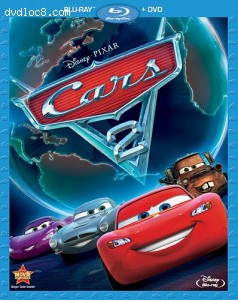 Cars 2 (Two-Disc Blu-ray / DVD Combo in Blu-ray Packaging)