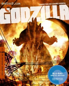 Godzilla (The Criterion Collection) [Blu-ray] Cover
