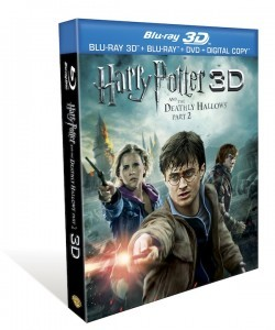 Harry Potter and the Deathly Hallows, Part 2 (4 Disc Blu-ray + DVD + Digital Copy +3D)